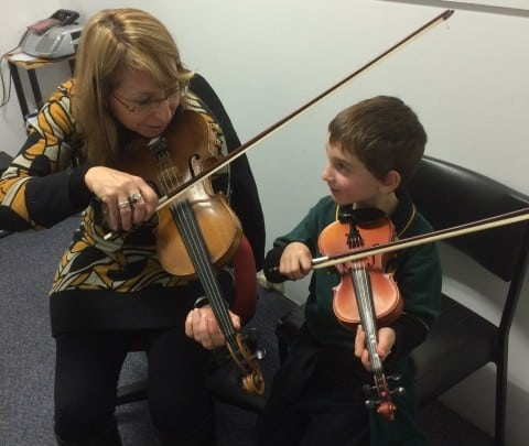 violin, eastern suburbs school of music