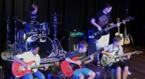 rock band, Eastern suburbs school of music