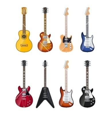 buying electric guitars